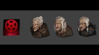 Battle Brothers: Witch Hut Event , battle against Hexen (Legendary dagger found)