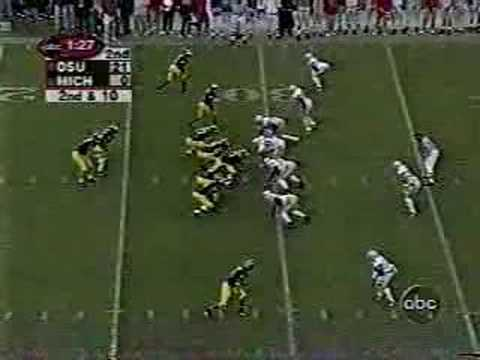 OSU - Michigan 2001