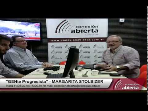 """""""GENte Progresista"""" con MARGARITA STOLBIZER - Radio Conexión Abierta"""