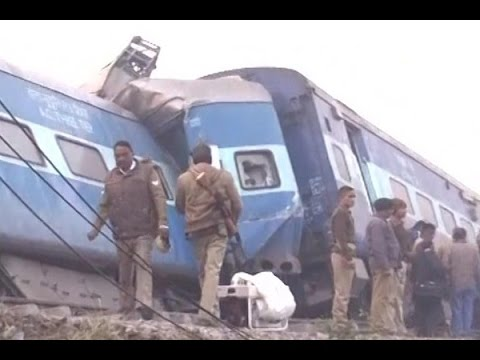 Patna-Indore express derailed, 55 dead