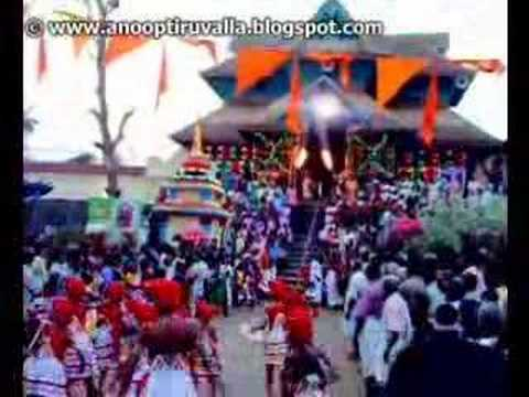 Aranmula Temple Video Velakali in Aranmula Temple