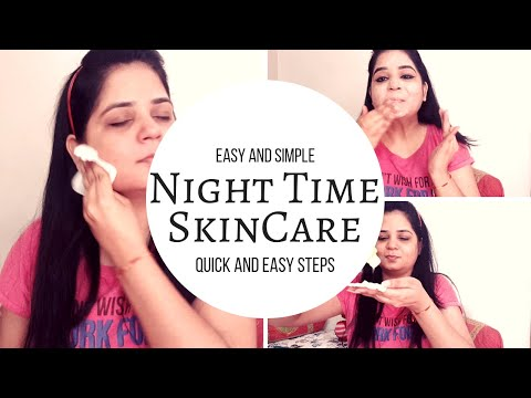 NIGHT TIME SKIN CARE ROUTINE | Indian Skincare Routine 4 Flawless Younger Looking | Pretty Indi Gal