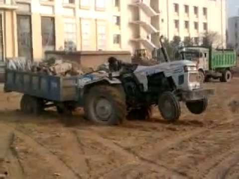 Tractor Stunt In Rawal Uploaded By Rishav Atish Anand  Raj Anit  And Rawalians video