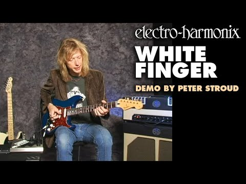 White Finger - Demo by Peter Stroud - Analog Optical Compressor