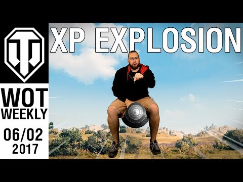 World of Tanks Weekly #14 - XP EXPLOSION