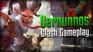 Smite: Ruining the Holidays in Style!- Krampus Cernunnos Clash Gameplay