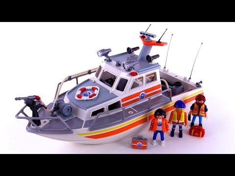 Playmobil Coast Guard Rescue Boat review! set 5540