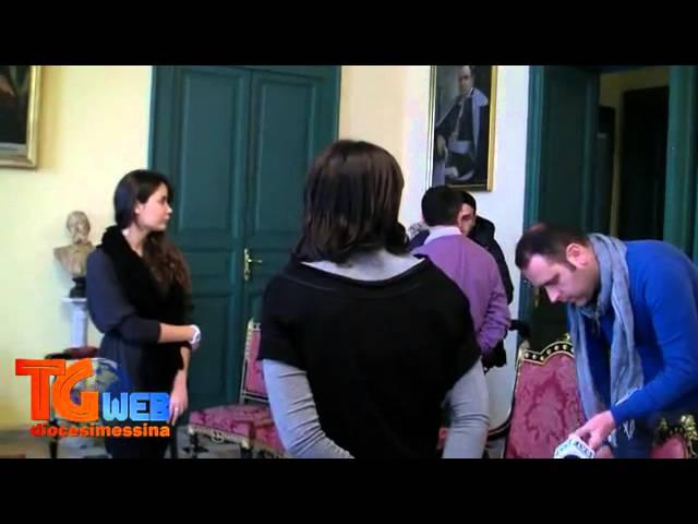 TG Web - Conferenza stampa di presentazione di Fede Arte Musica Quaresima Pasqua 2013