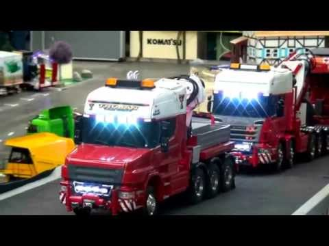 BRITISH ENERGY TRANSFORMER TRANSPORT RC EXTREME incredible long