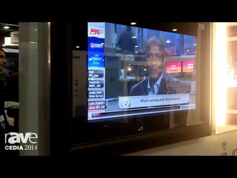 CEDIA 2014: Electric Mirror Demos Iris Glass Technology for Higher Quality HD Video