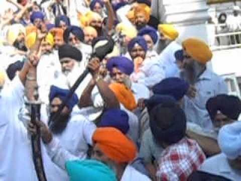 simranjit singh mann at shaheedi samagam amritsar sahib 6.june...