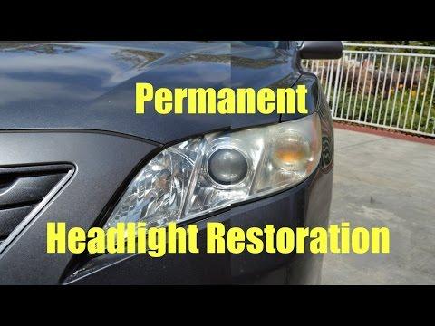 Headlight Restoration Permanent DIY