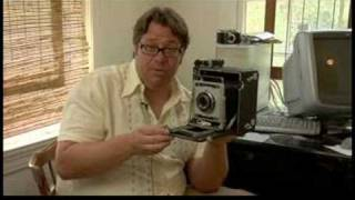 How to Use a Large Format 4x5 Camera : Large Format 4 x 5 Camera Parts: Cable Shutter Release