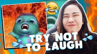 TRY NOT TO LAUGH MEME NEGARA BERFLOWER