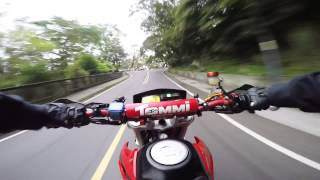 GoPro Hero4 test # Honda FMX650 Racing #1