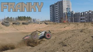 RC Desert Buggy DHK Hobby SC chassis and Himoto Dirt Whip body