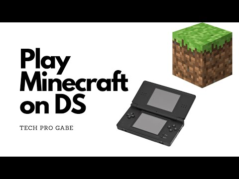 How To Play Minecraft On Your DS!
