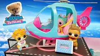 LOL Surprise Wave 2 Live Pets Deliver NEW JIFFPOM CUTELIFE COLLECTIBLES + PLUSH | L.O.L. House