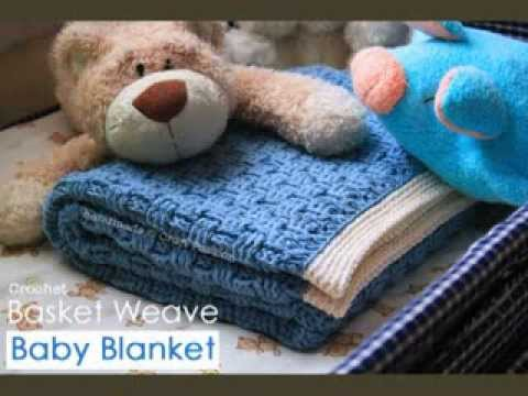Youtube Crocheting A Blanket : Baby Boy Crochet Blanket Patterns Free - YouTube