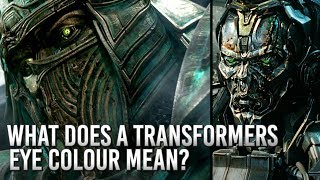 Transformers: What Does A Transformers Eye Colour Mean?