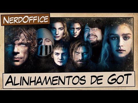 Alinhamentos de Game of Thrones | NerdOffice S05E33