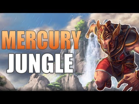 SMITE Ranked Conquest | Mercury Jungle Play-by-Play | Deathbringer Is Busted!