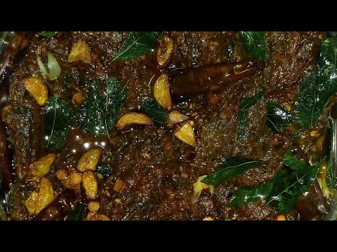 How to make gongura Pachadi // Gongura pickle