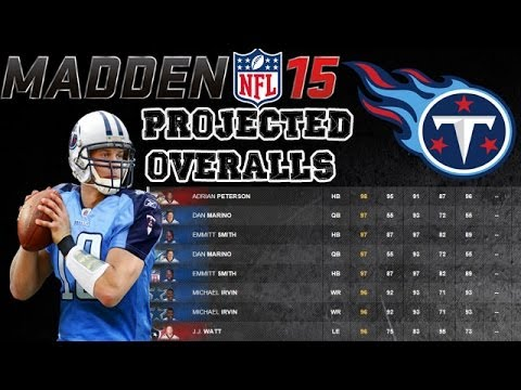 Tennessee Titans | Madden 15 Ratings
