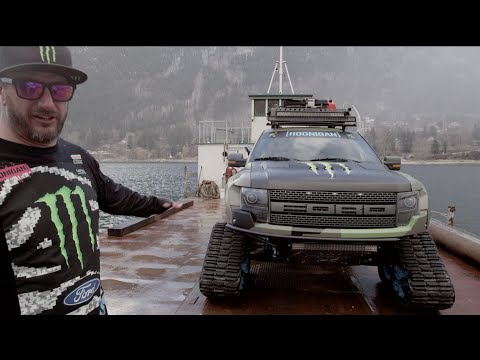 Monster Energy: Ken Block Showcases His Ford F-150 Raptortrax video