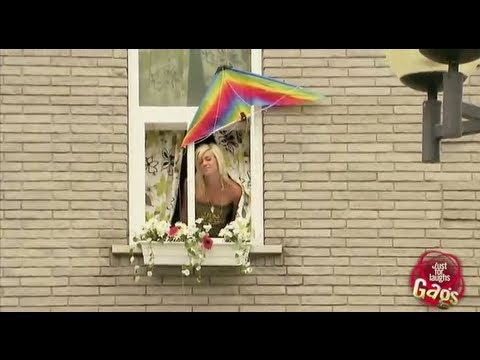 Kite Broken Window Prank