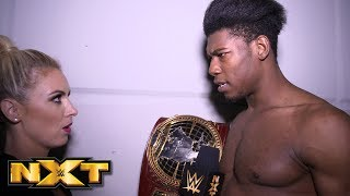 Velveteen Dream celebrates his crowning achievement: NXT Exclusive, Feb. 20, 2019