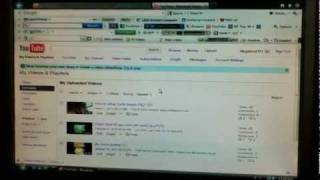 How to delete a YouTube video in January 2013 New YouTube