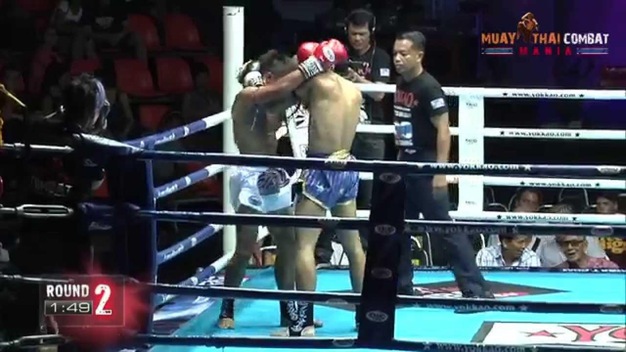 Muay Thai Combat Logo ko Muay Thai Combat