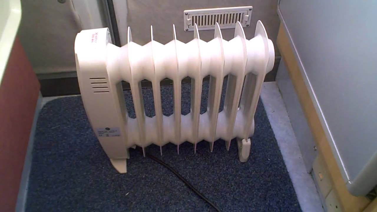 Review Of Mini Oil Filled Radiator Ideal For Small Motor