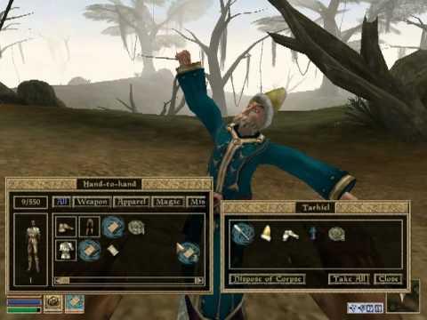 Скоростное прохождение / SpeedRun The Elder Scrolls III Morrowind за 4:19