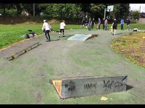 Raiders of the Lost Park 3 - Fartown skatepark, Huddersfield