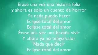 Yuridia ft Patricio   Eclipse total del amor letra