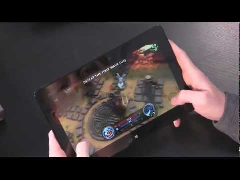 ASUS VivoTab RT First Look and Hands On - PC...