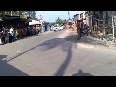 West Bengal Chief Minister Mamata Banerjee in Naxalbari @ Earthquake