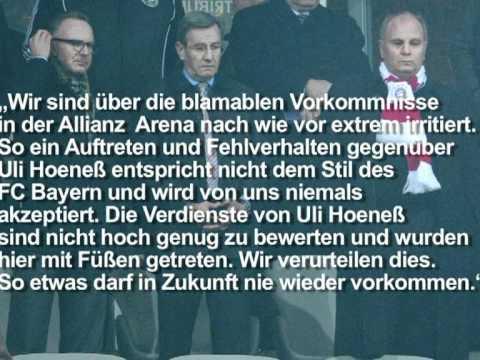 Bayern-Vorstand verurteilt Fan-Plakate