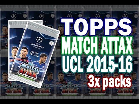 ★ ARGENTINA PREMIERE ★ TOPPS Match Attax UCL 2015-16 ⚽️ 3x packs