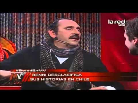 Las particulares historias en Chile del italiano Benni