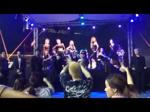 Zassy B. ft. Gimmick Force l Showcase at Bangkok City Throwdown 2014