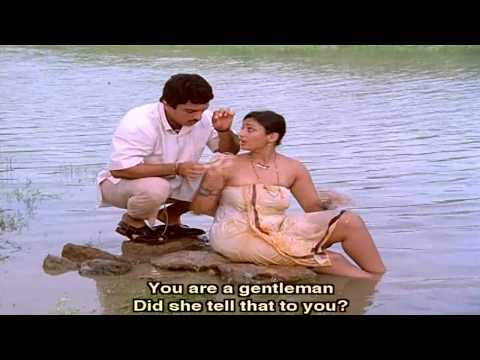Swathi Muthyam Movie || Mary Taking Bath At Lake Love Scene || Kamal Hassan, Radhika video