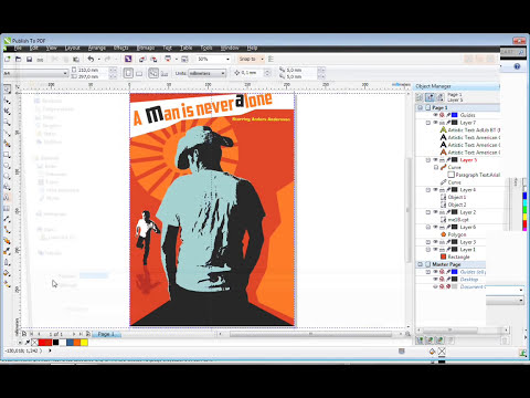 Creating a Poster with CorelDRAW® and Corel® PHOTO PAINT™