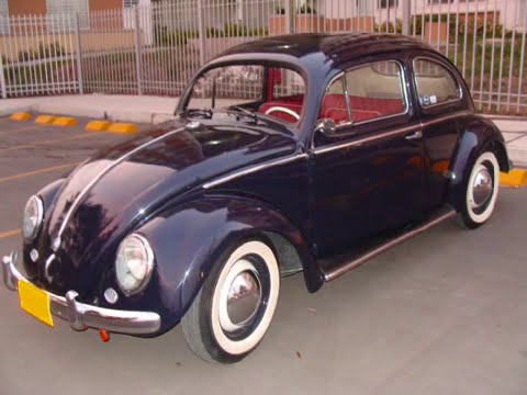 VW Beetle Restauracion de 1968 a Oval 1955 Manolo