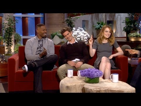 Emma Stone and Andrew Garfield on Their Chemistry