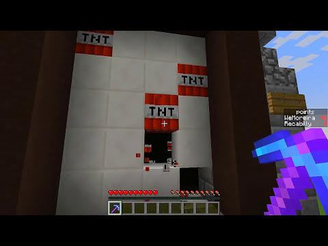 Não Toque no Branco, TNTs! (Desafio) - Minecraft!
