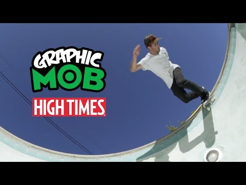 Brad McClain: Graphic MOB x High Times