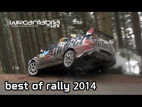 Best of Rally 2014 | Crash, Show & Max attack | WRCantabria @World 2014 [HD]